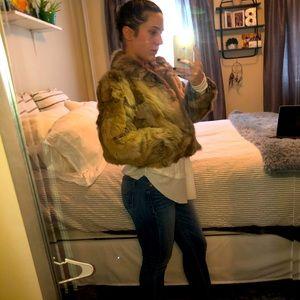 Adrienne Landau Rabbit jacket